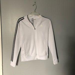 Adidas | athletic track jacket | XS